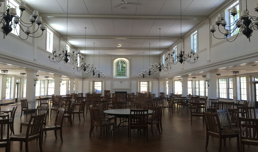 millbrook school dining hall